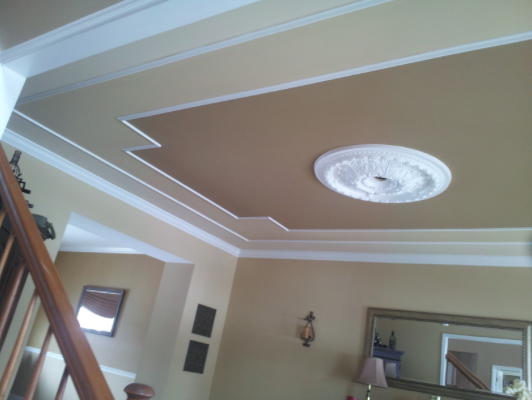 Interior Ceiling Painting and Trim