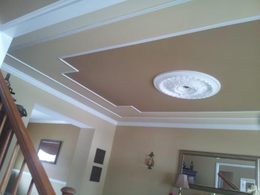 Interior Ceiling Painting and Trim