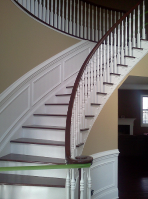 Interior House Painting Staircase