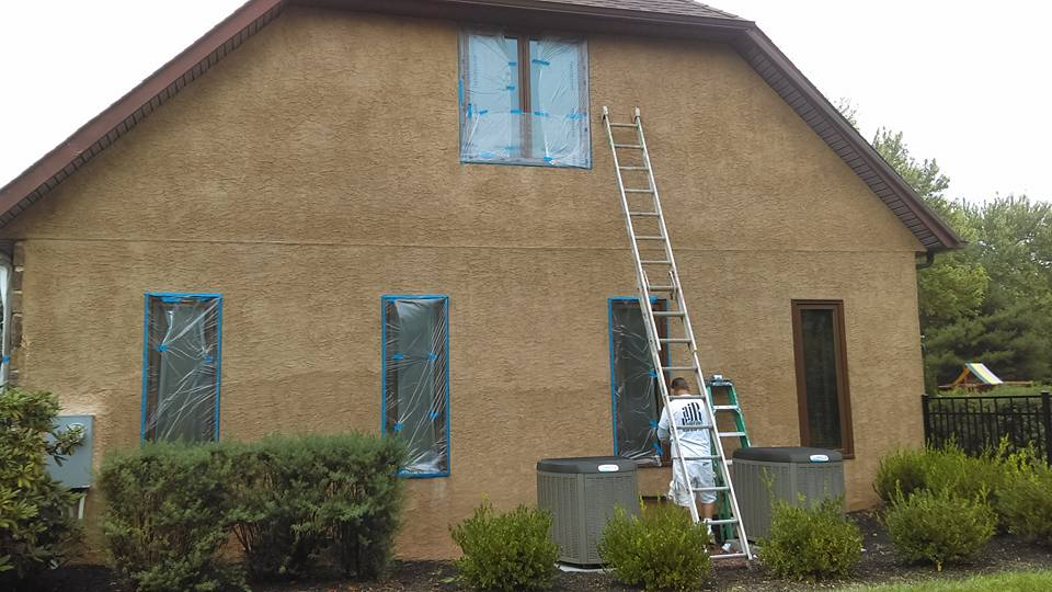 Exterior house painting ajr painting interior finishes llc for Exterior house finishes