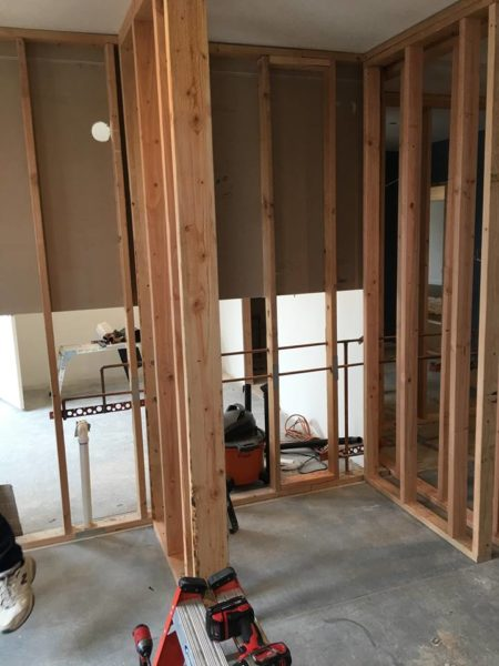 Commercial Shower Framing